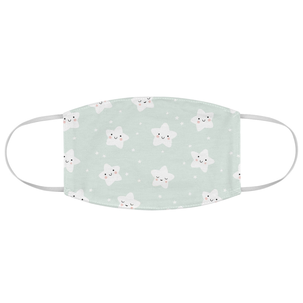 Kids Star Pattern - Fabric Face Mask