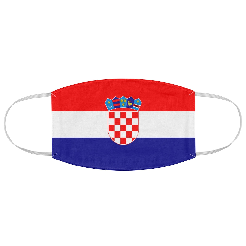 Croatia - Fabric Face Mask