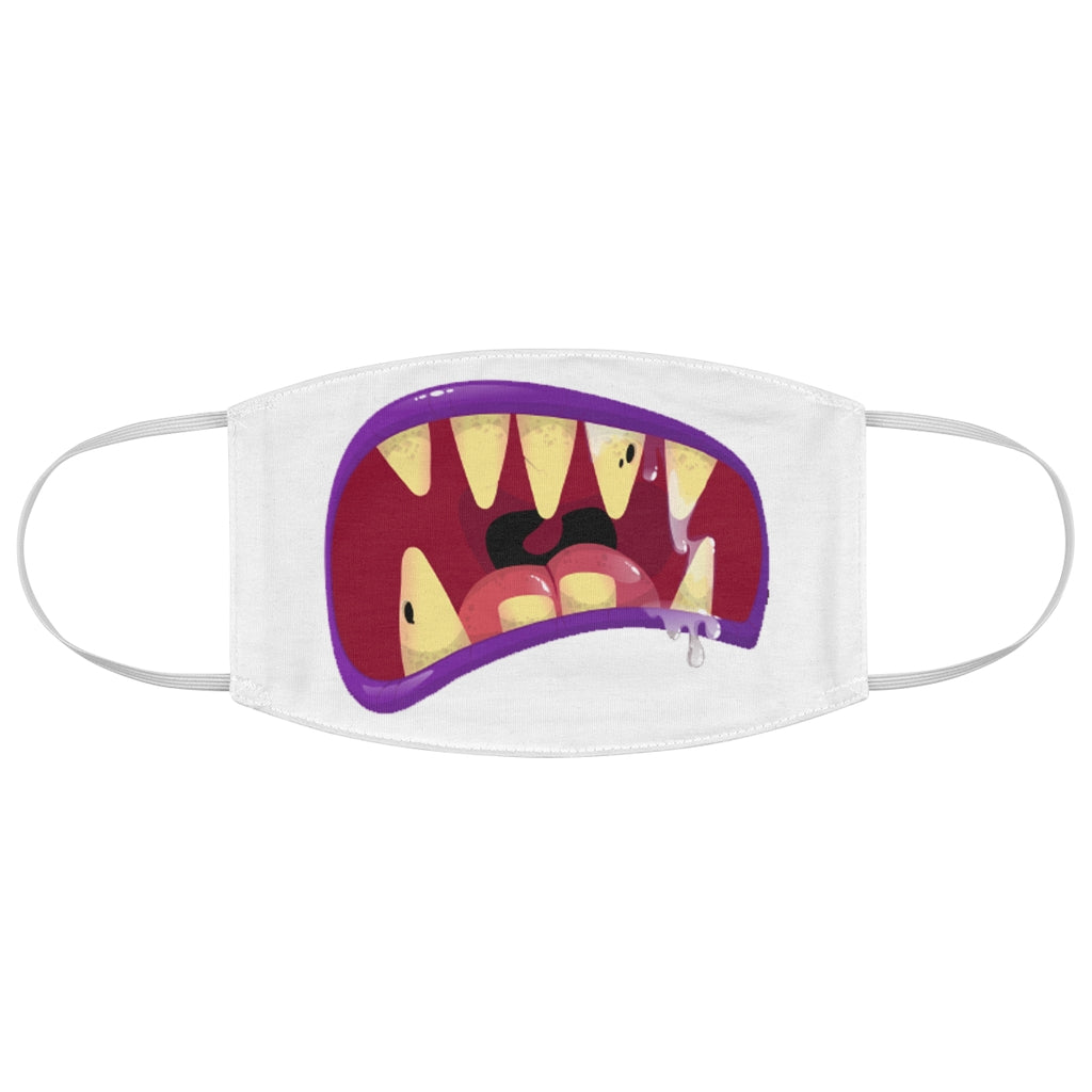 Kids Monster Mouth 4 - Fabric Face Mask