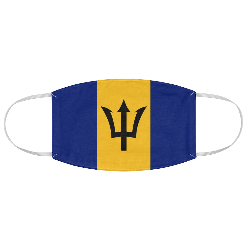 Barbados - Fabric Face Mask