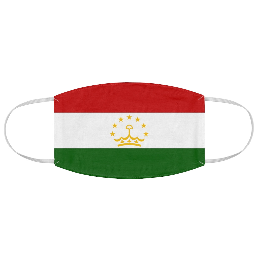 Tajikistan - Fabric Face Mask