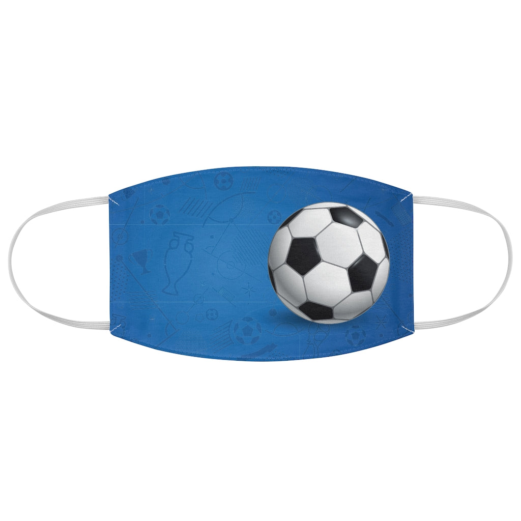 Soccer Vibes - Fabric Face Mask