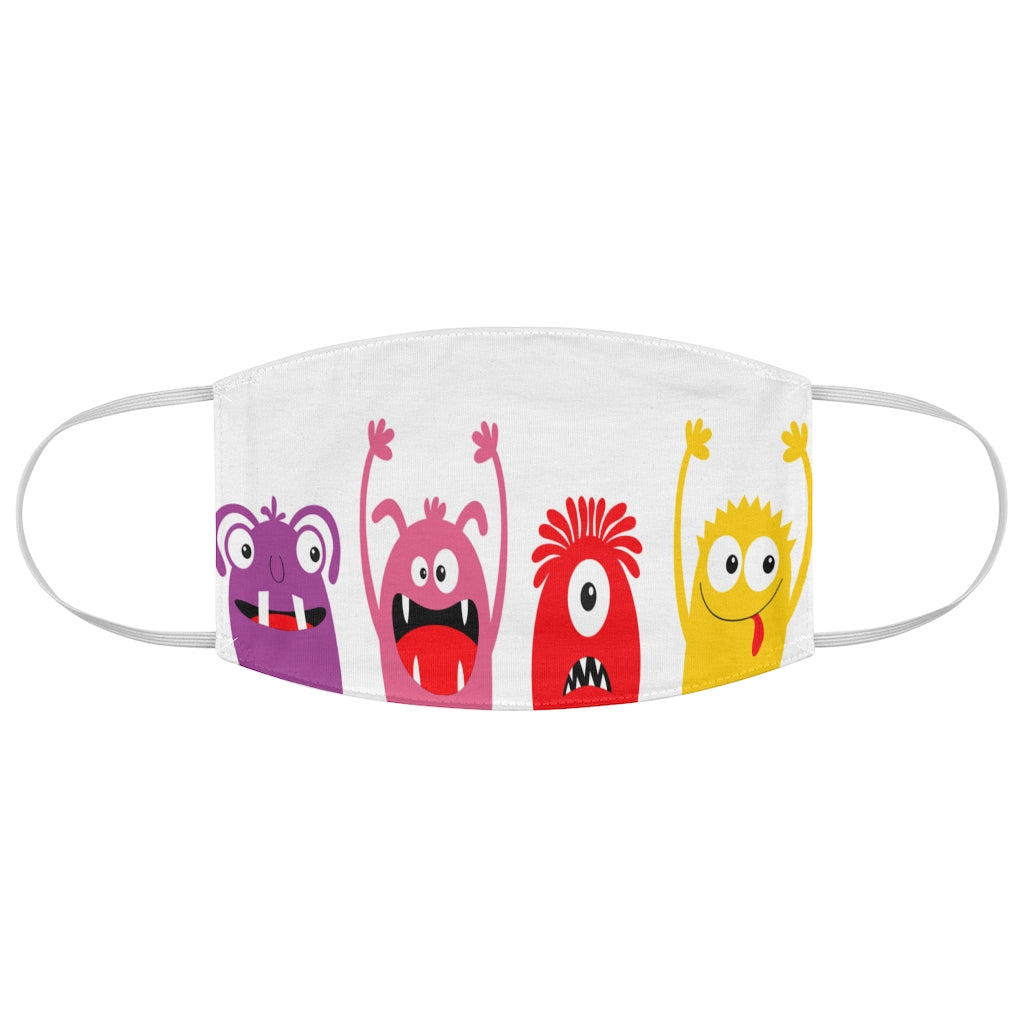 Kids Fun Monsters - Fabric Face Mask