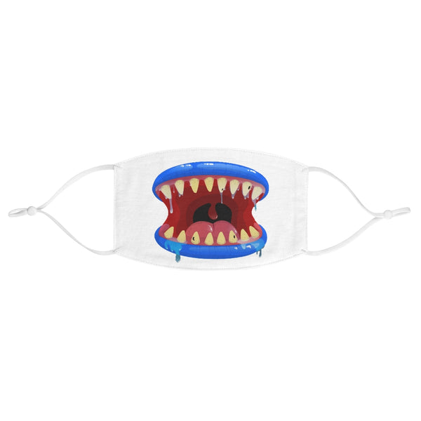 Kids Monster Mouth 5 - Fabric Face Mask