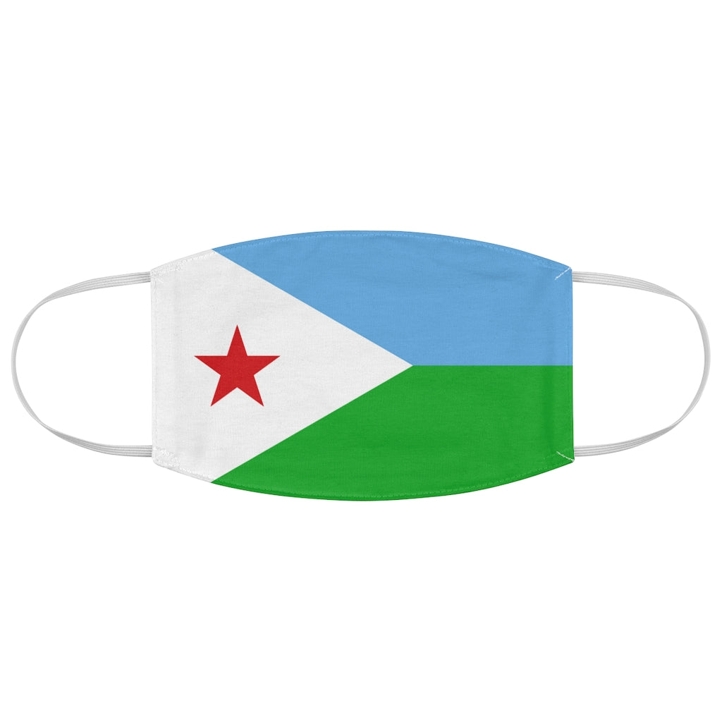 Djibouti - Fabric Face Mask