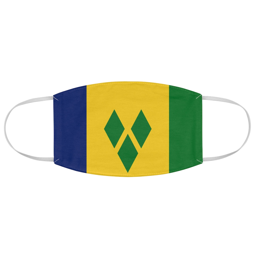 Saint Vincent & The Grenadines - Fabric Face Mask