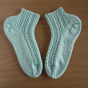 【編み図】Hearty Drop Socks(印刷物)