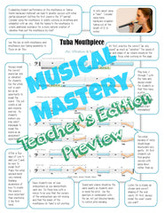Musical Mastery Brass Teacher Edition