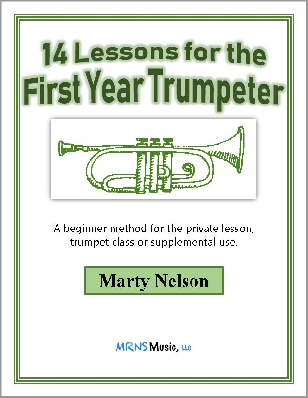 14 Lessons for the First Year Trumpeter - Class set of 10
