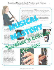 University of North Texas Woodwind Methods Class Book  MUAG 1125