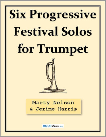Six Progressive Festival Solos for Trumpet