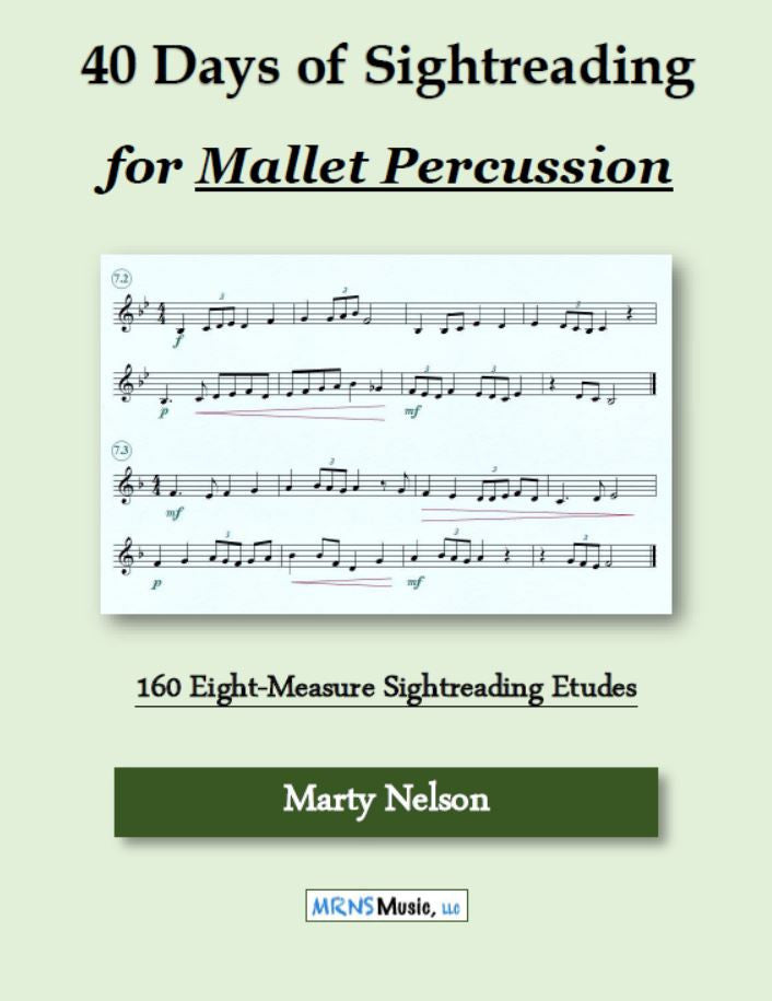 40 Days of Sightreading for Mallet Percussion