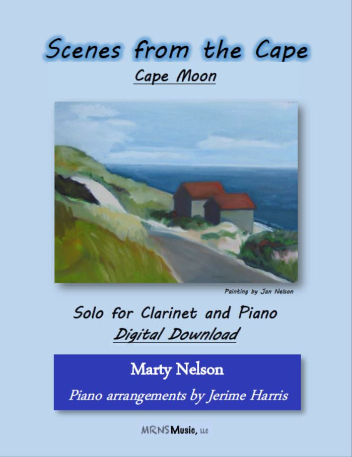 Cape Moon Solo for Clarinet and Piano
