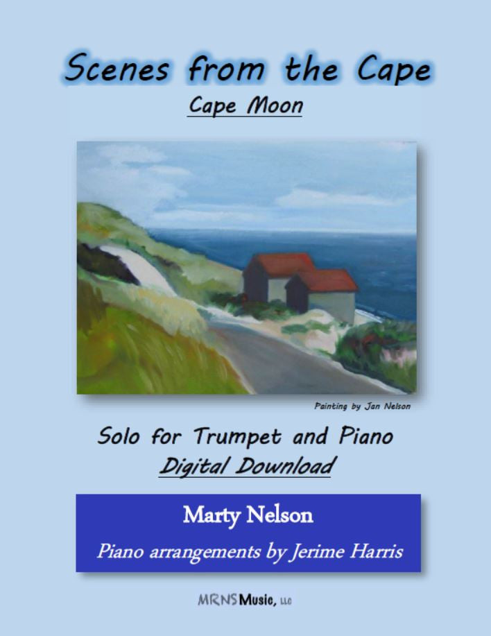 Cape Moon Solo for Trumpet and Piano