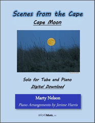 Cape Moon Solo for Tuba and Piano