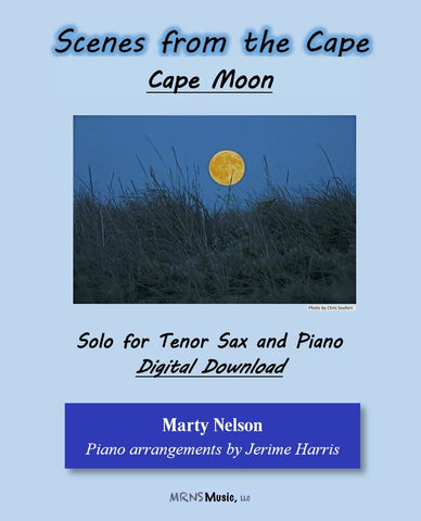 Cape Moon Solo for Tenor Sax and Piano