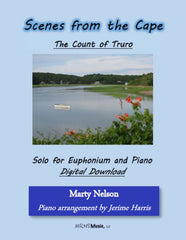 The Count of Truro Solo for Euphonium and Piano