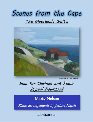 The Moorlands Waltz Solo for Clarinet and Piano