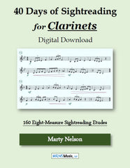 40 Days of Sightreading for Clarinet