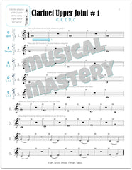 Musical Mastery for Band Clarinet Book 1