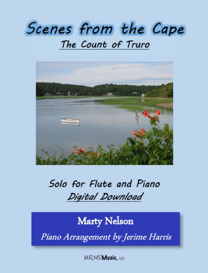 The Count of Truro Solo for Flute and Piano
