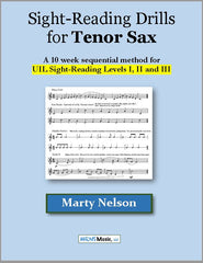 Sight-Reading Drills for Tenor Sax