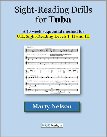 Sight-Reading Drills for Tuba
