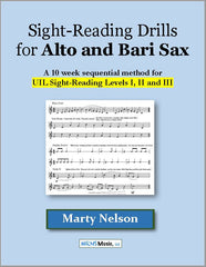 Sight-Reading Drills for Alto and Bari Sax