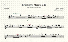 Cranberry Marmalade Solo for Alto Sax and Piano