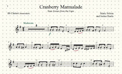 Cranberry Marmalade Solos for Clarinet