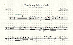 Cranberry Marmalade Solo for Euphonium and Piano