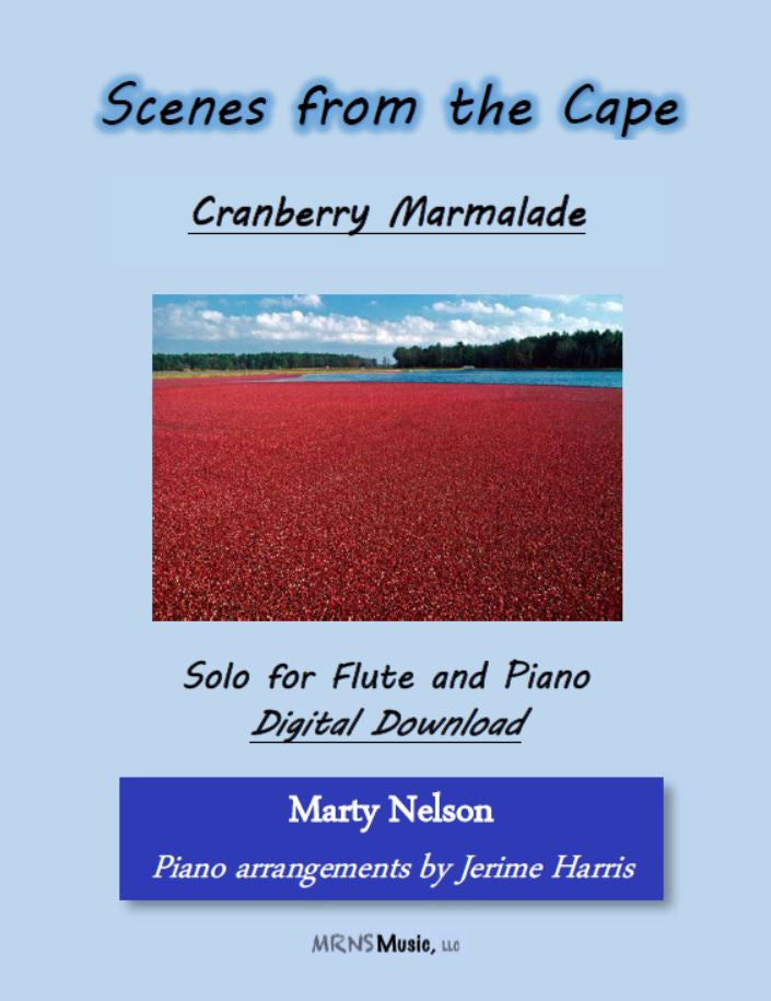 Cranberry Marmalade Solo for Flute and Piano