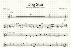 Dog Star Solo for Trumpet and Piano