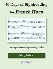 40 Days of Sightreading for French Horn