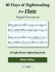 40 Days of Sightreading for Flute