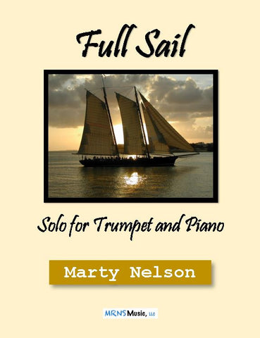 Full Sail Solo for Trumpet and Piano