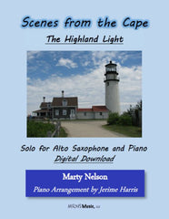 The Highland Light Solo for Alto Saxophone and Piano