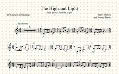 The Highland Light Solo for Clarinet and Piano