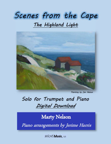 The Highland Light Solo for Trumpet and Piano