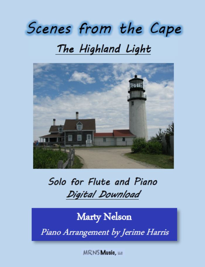 The Highland Light Solo for Flute and Piano