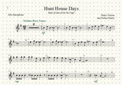 Hunt House Days Solo for Alto Sax and Piano