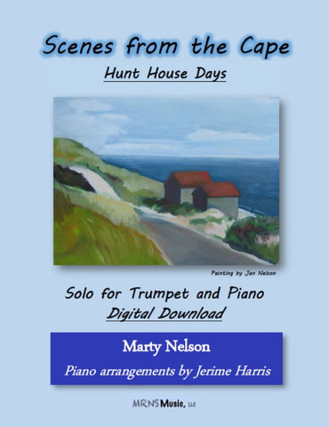 Hunt House Days Solo for Trumpet and Piano