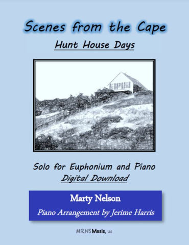 Hunt House Days Solo for Euphonium and Piano