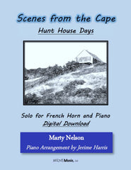 Hunt House Days Solo for French Horn and Piano
