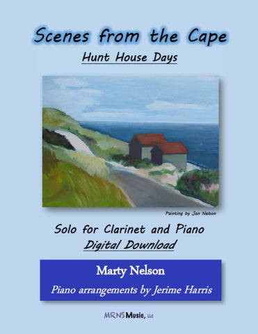 Hunt House Days Solo for Clarinet and Piano