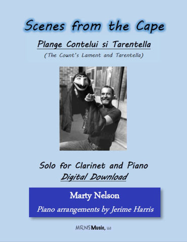 Plange Cantelui si Tarantella Solo for Clarinet and Piano