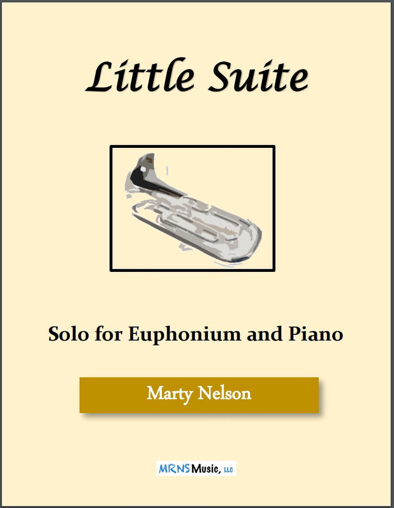 Little Suite Solo for Euphonium and Piano