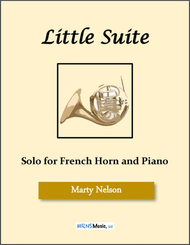 Little Suite Solo for French Horn and Piano