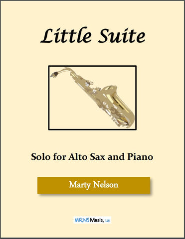 Little Suite Solo for Alto Sax and Piano