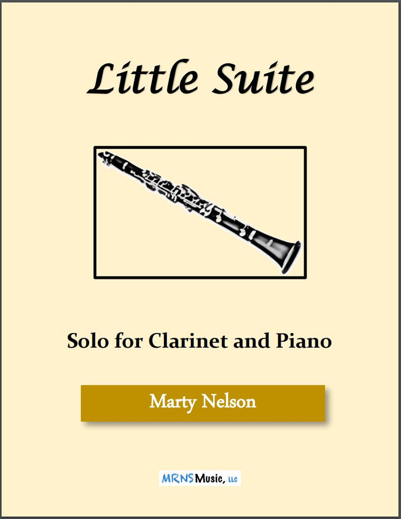Little Suite Solo for Clarinet and Piano